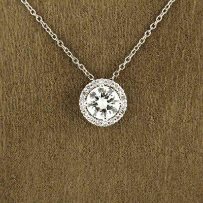 Diamants Jewellers bijouterie à Biarritz Pays basque, collection de pendentifs en diamant